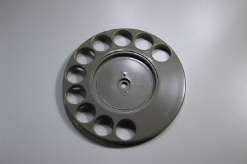 GPO Grey Rotary Telephone Finger Dial